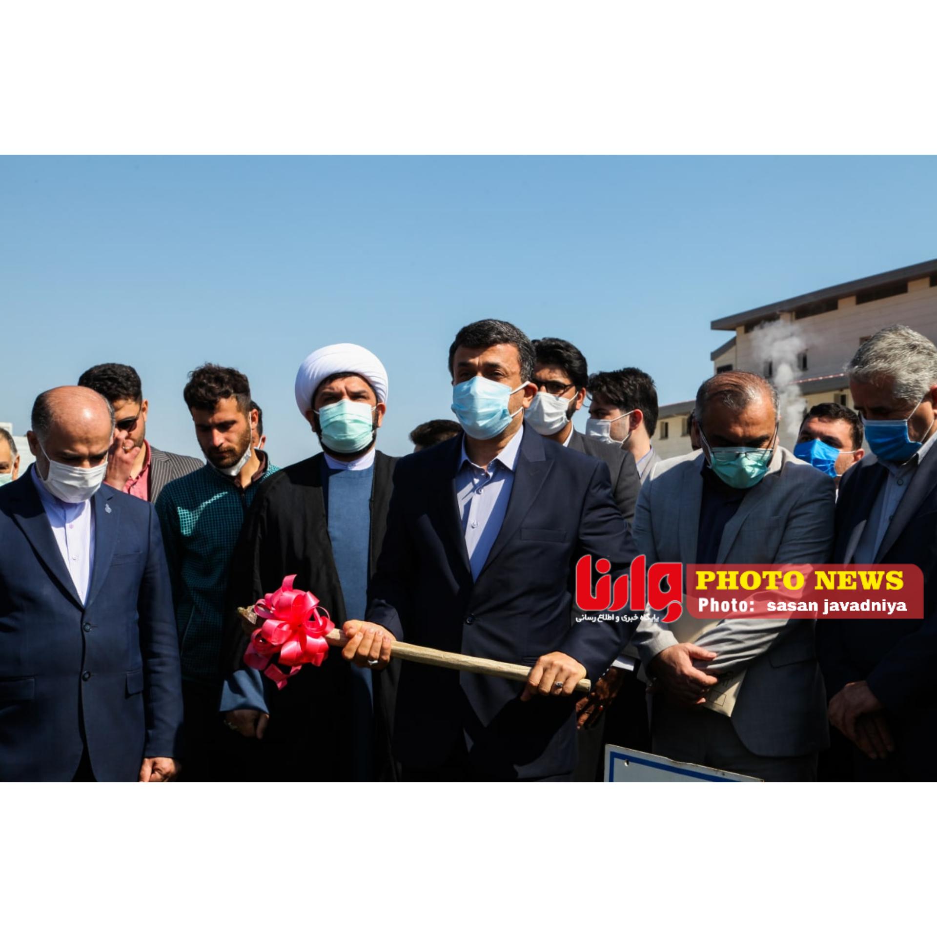 گزارش تصویری مراسم کلنگ زنی بخش تخصصی و جراحی قلب غرب گیلان در بیمارستان شهید نورانی شهرستان تالش